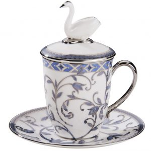 Набор Swan с синим орнаментом