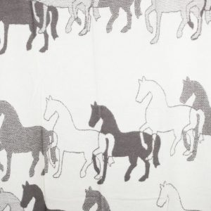 Плед Horses