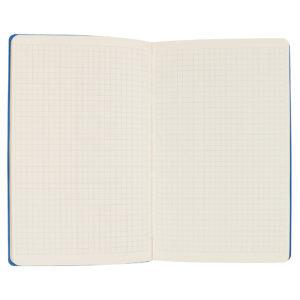 """Бизнес-блокнот А5 """"Provence"""" синий мягкая обложка в клетку"""