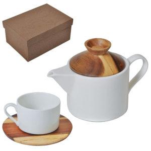 """Набор """"Andrew"""":чайная пара и чайник в подарочной упаковке"""