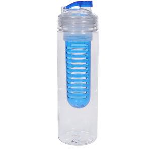 """Бутылка для воды """"Frutti"""" с контейнером для ягод и фруктов 700 мл."""