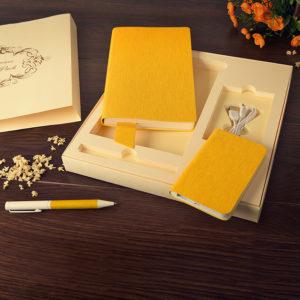 Набор подарочный PROVENCE: универсальное зарядное устройство (4000мАh) блокнот и ручка