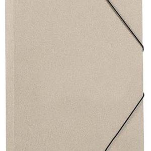 Папка ECOSUM A4 рециклированный картон бежевый