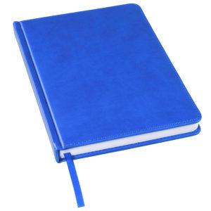 Ежедневник недатированный Bliss А5 синий ройал белый блок без обреза