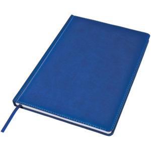 Ежедневник недатированный Bliss А4 синий белый блок без обреза