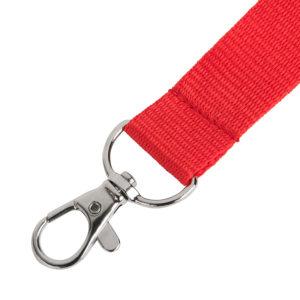 Ланьярд NECK красный полиэстер 2х50 см