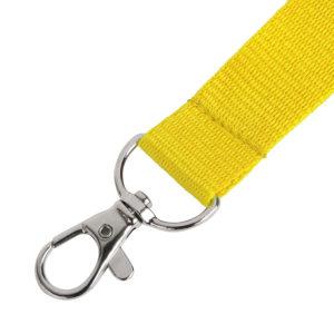 Ланьярд NECK желтый полиэстер 2х50 см