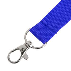 Ланьярд NECK синий полиэстер 2х50 см