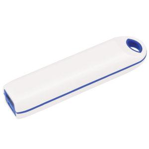 """Универсальный аккумулятор """"Timber"""" (2000mAh) белый с синим11х21х24 смпластик"""