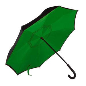 """Зонт-трость """"наоборот"""" ORIGINAL пластиковая ручка механический"""