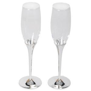 "Бокалы для шампанского ""Crystal"" (2шт)"