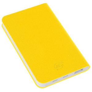 """Универсальный аккумулятор """"Softi"""" (4000mAh)желтый 75х121х11см искусственная кожапласт"""