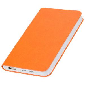 """Универсальный аккумулятор """"Softi"""" (4000mAh)оранжевый 75х121х11см искусственная кожапл"""