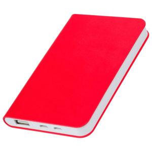 """Универсальный аккумулятор """"Softi"""" (4000mAh)красный 75х121х11см искусственная кожапл"""