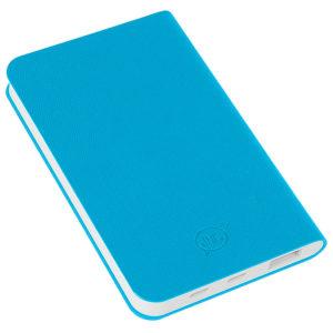 """Универсальный аккумулятор """"Softi"""" (4000mAh)голубой 75х121х11см искусственная кожапл"""