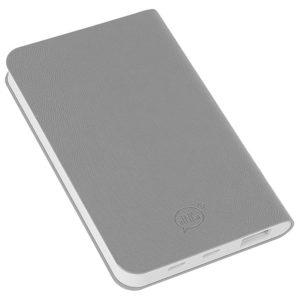 """Универсальный аккумулятор """"Softi"""" (4000mAh)серый 75х121х11см искусственная кожапласти"""