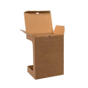 Коробка для кружки 26700 размер 119х86х152 см микрогофрокартон коричневый