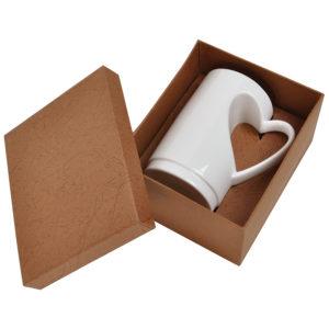 """Кружка """"Сердце"""" в подарочной упаковке"""